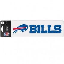 Buffalo Bills Decal 3x10 Perfect Cut Color Wordmark**Free Shipping** - $14.90