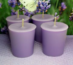 Lavender PURE SOY Votives (Set of 4) - $7.00