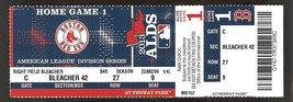 2013 BOSTON RED SOX TAMPA BAY RAYS ALDS GAME 1 TICKET JON LESTER SHANE V... - $12.95