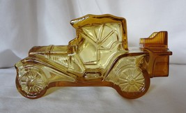 Avon Packard Roadster After Shave Decanter Bottle Amber Glass Car Automo... - $9.99