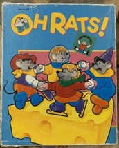 Discovery Toys Oh Rats! Puzzle Game Educational 1988 Occupational Therap... - $12.77