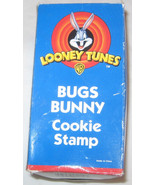 Christmas 1998 Warner Bros. Looney Tunes Bugs Bunny Cookie Stamp Free Sh... - $8.65