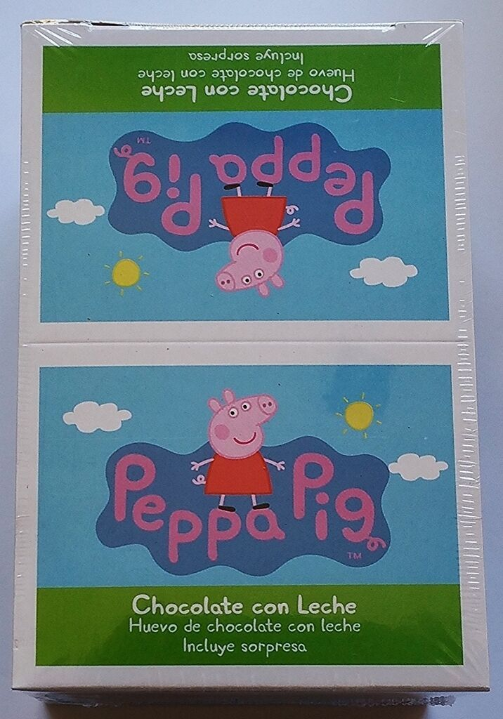 Primary image for NEW Peppa Pig Chocolate Egg Toy Surprise Box of 6 Free Worldwide Shipping
