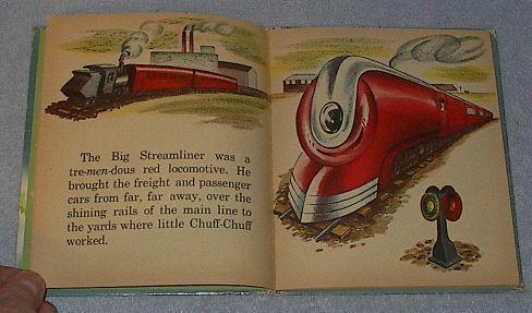 Tell A Tale Book Little Chuff Chuff and Big Steamliner