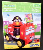 K'NEX Sesame Street Neighborhood Collection Fire Truck Building Set NEW - $16.61
