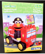 K'NEX Sesame Street Neighborhood Collection Fire Truck Building Set NEW - $16.61