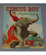 Tell A Tale Book Circus Boy and Captain Jack - $9.95
