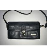Vintage HCL Black Leather Shoulder/ Crossbody Bag - $35.00