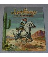 Tell-A-Tale Book The Lone Ranger and the Ghost Horse - $12.95
