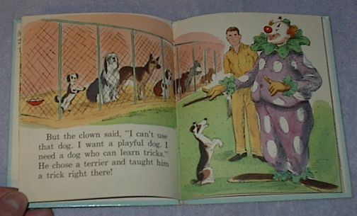 Vintage Child's Tell A Tale Book Frisker
