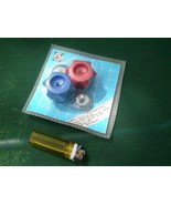 Vintage Soviet Russian Ussr Plastic Valve Handles Hot Cold In Original P... - $12.86