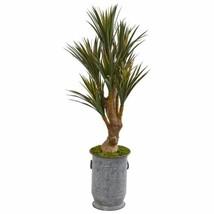 Multicolor 52? Yucca Artificial Tree in Planter UV Resistant (Indoor/Outdoor) - - $251.49