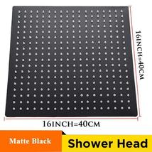 Wholesale and Retail 40cm * 40cm Rainfall Shower Head - $87.60