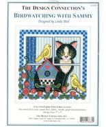 Bird Watching with Sammy..Counted Cross Stitch Kit - $14.00