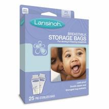 Lansinoh Breastmilk Storage Bags (25) - Fast Shipping - Great Price - $8.35