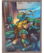 Teenage Mutant Ninja Turtles Michaelangelo Glossy Print 11x17 In Plastic... - $24.99