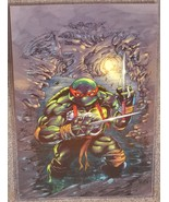 Teenage Mutant Ninja Turtles Raphael Glossy Print 11 x 17 In Hard Plasti... - $24.99