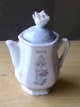 1995 Precious Moments Parsley Teapot Spice Jar  - $13.00