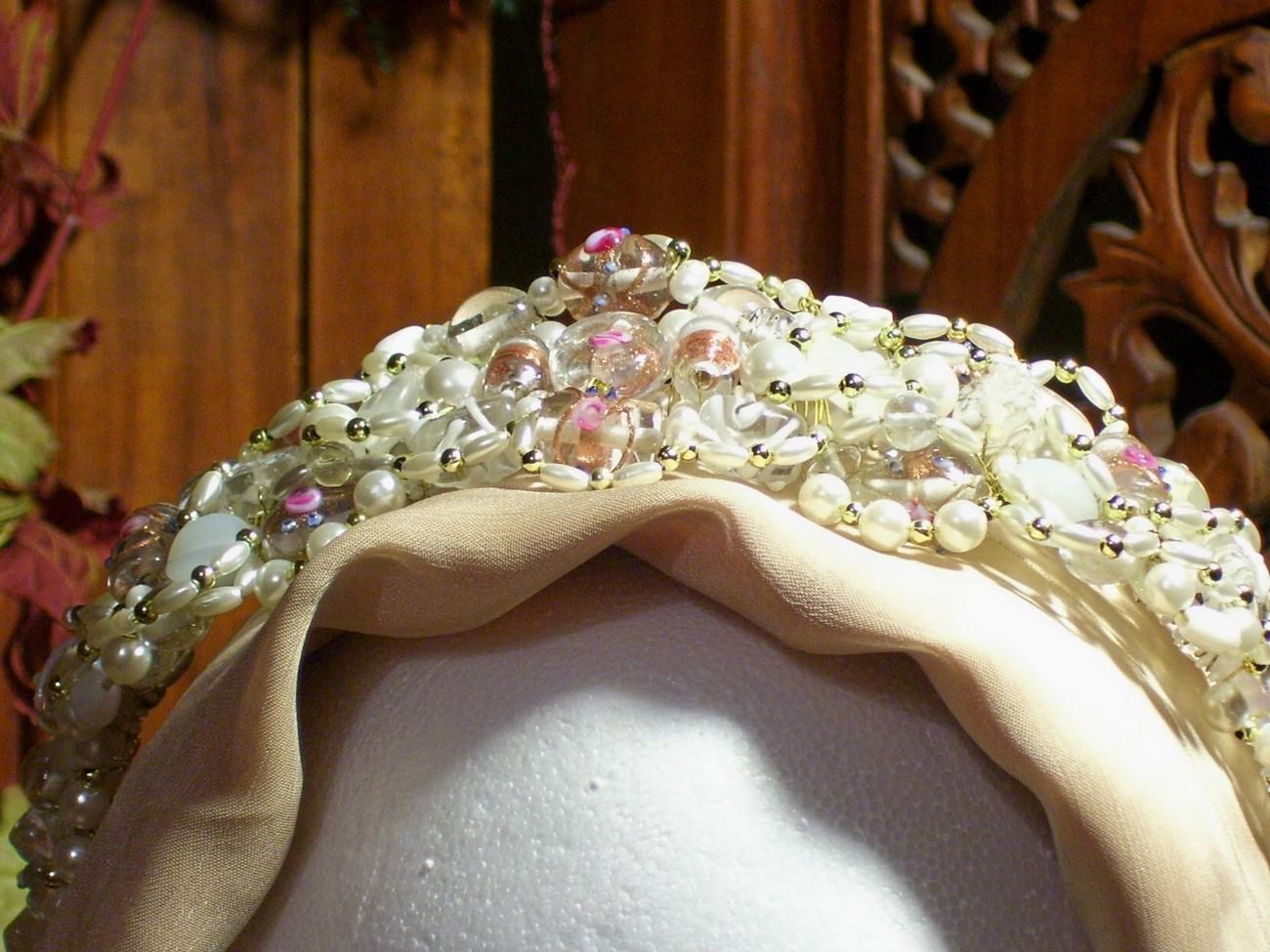 Ice Princess Headband, OOAK, SCA, Pagan, Wiccan