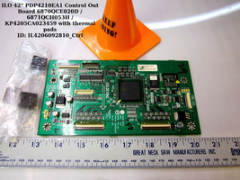LG 6871QCH066H (6870QCE020D) Main Logic for ILO PDP4210EA1 and [See List] - $20.00