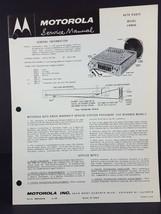 Motorola 1960 Volkswagen Auto Radio Service Manual Model VWM60 - $14.84