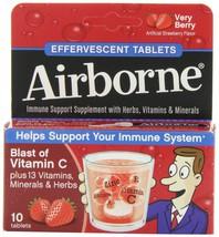 Airborne Effervescent Health Formula Tablets, V... - $9.49