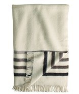 Hudson Bay Capote Throw Natural with Brown Stripes [Misc.] - €120,57 EUR