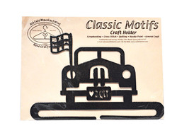 Klassisch Motive Jalopy 19.1cm Dunkelgrau Spalten Unterseite Basteln Halter - $16.16