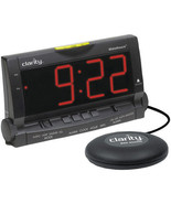 super loud alarm clock w large numbers extra br... - $90.40