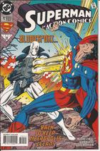 DC Action Comics #702 Bloodsport Superman Lois Lane Clark Kent Metropolis - $2.45