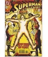 DC Action Comics #693 Kryptonian No More Superman Lois Lane Metropolis - $2.45