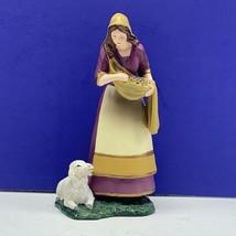 Thomas Kinkade nativity figurine Christmas hawthorne village Kind Gentle Mary 09 - $34.60