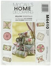 McCall's Patterns M4410 Pillow Essentials, All Sizes - $14.21