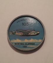 Jello Picture Discs -- # 105  of 200 - The Boeing Clipper - $10.00