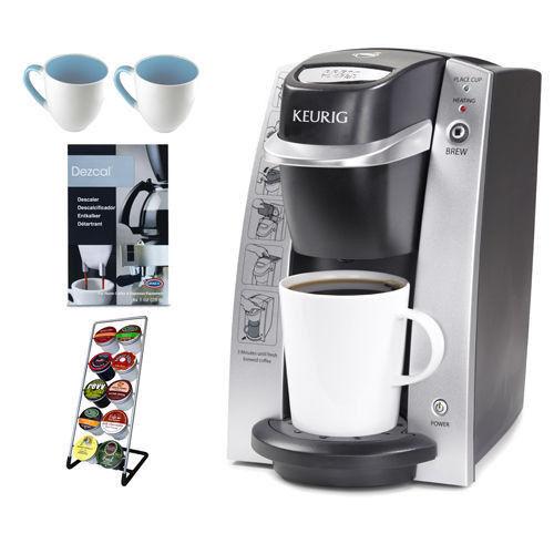 Desk Pro Single Cup Coffee Tea Hot Cocoa Iced Beverage
