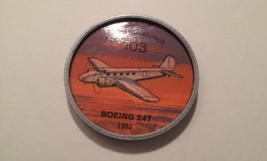 Jello Picture Discs -- # 103  of 200 - The Boeing 247 - $10.00