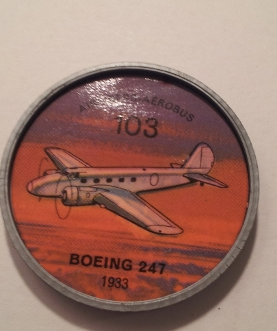 Jello Picture Discs -- # 103  of 200 - The Boeing 247