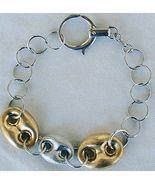 Golden silver bracelet - $48.00