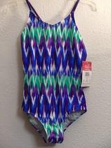 Kanu Surf Big Girls Kelly One Piece Swimsuit, Purple, 12 - $19.95