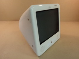 Apple eMac PowerMac 6 4 PowerPC G4 7447a 17in 80GB Hard Drive A1002 EMC ... - $79.09