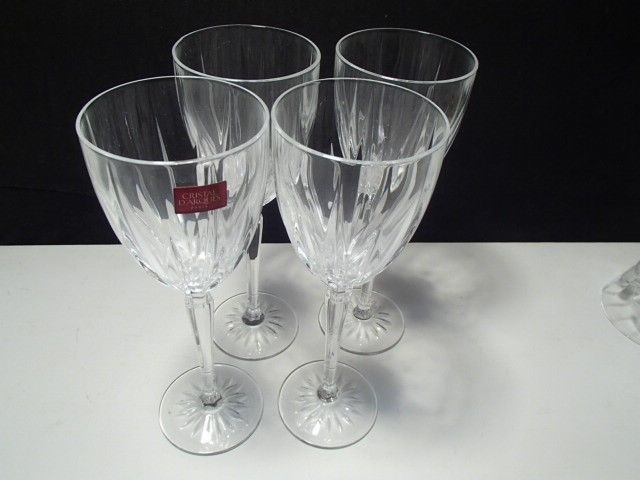 Primary image for 4 Cristal d'Arques Tall Cut Wines~~~Maybe Classic Patrn~~take a look