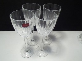 4 Cristal d'Arques Tall Cut Wines~~~Maybe Classic Patrn~~take a look - $23.99