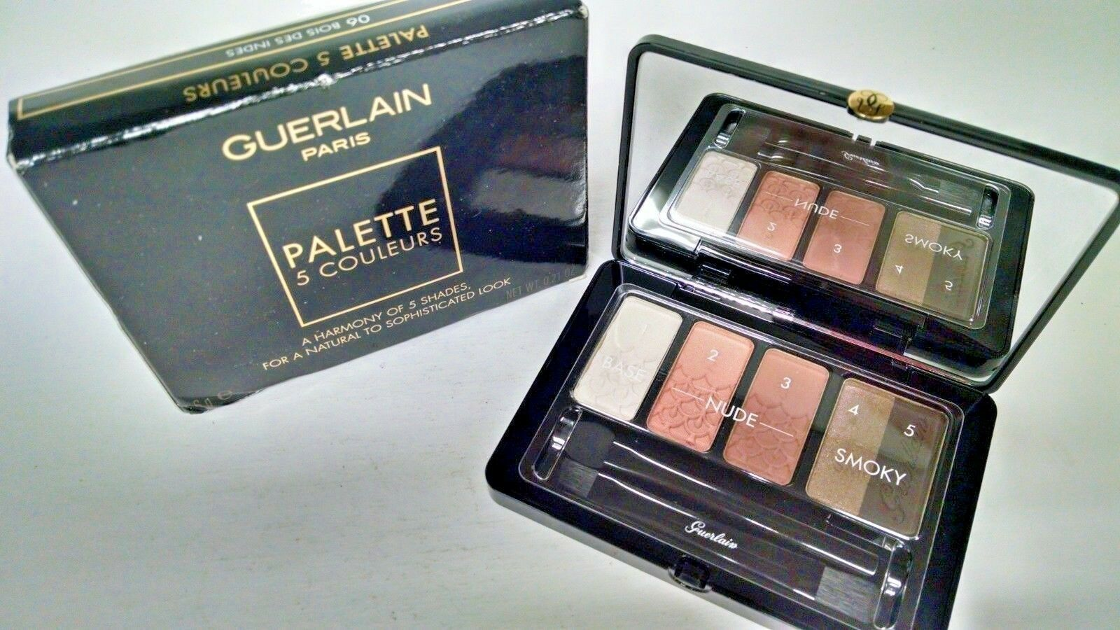 Primary image for Guerlain Palette 5 Couleurs Eyeshadow 06 Bois Des Indes 6 g / 0.21oz New in box