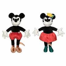 Disney 90th Anniversary Mickey & Minnie Collectible Plush Doll Set - $89.09