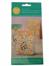 Paper Easter Bunny Flower Window Treat Bag Kit 6 Ct - $4.94