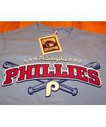 VINTAGE PHILADELPHIA PHILLIES MLB T-Shirt SMALL NEW - $22.28