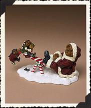 "Boyds Bearstone ""Santa Bear with Jingle,Jangle..Northpole Pastimes"" #228439-NIB - $29.99"
