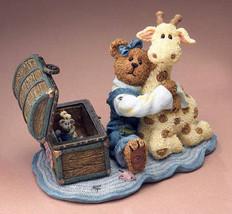 "Boyds Bearstone ""Jordan w/ Lil' Spot.Grandma's Attic Treasure"" #2277938-NIB-2005 - $23.99"
