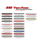 """8/32"""" X 150Ft Roll / 3M Two Color Pinstripe / For All Model Decal Trim 876 - $39.19"""