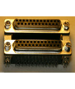 Details about  NEW Dual  25pin Female D-Sub 2 Pcs D-SUB Right Angle PCB... - $0.99